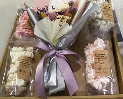 Meringue Wedding Gift Basket